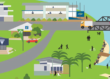 Taree Council Infographic Illustrations
