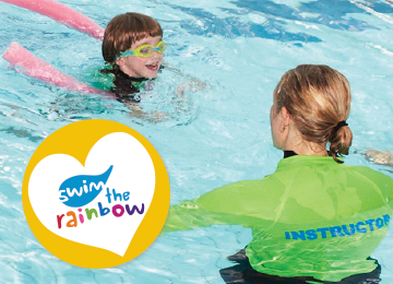 Swim the Rainbow Visual Aids