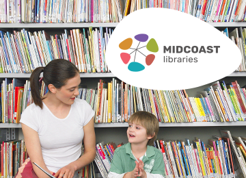 MidCoast Libraries Branding