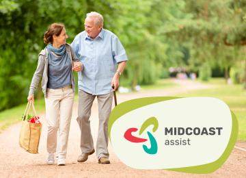 MidCoast Assist Branding