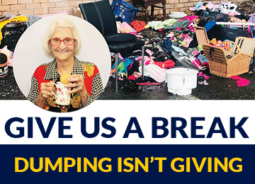 Charity Dumping Campaign