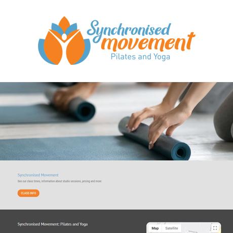Pilates Yoga Website
