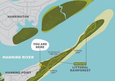 Manning Point Interpretive Sign
